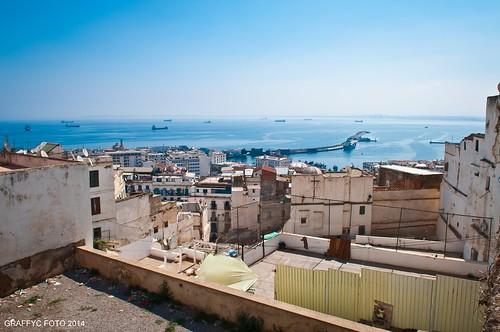 mer algeria nikon foto du casbah f28 nord afrique algiers baie kasbah alger 2014 1755 d300 mediterranee algier graffyc