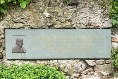 Photo of Clifton Suspension Bridge and Isambard Kingdom Brunel stone plaque