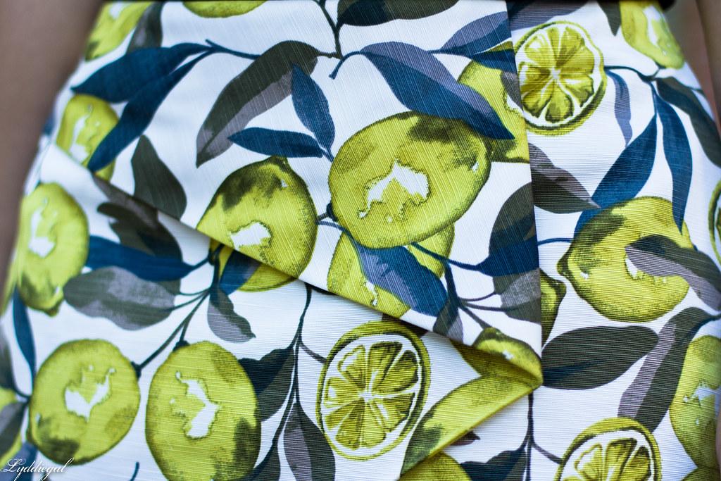Lemon print skort, black tank-6.jpg