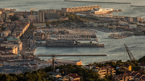 Trieste from Conconello before sunset. Italy [EXPLORE 28/08/2014]