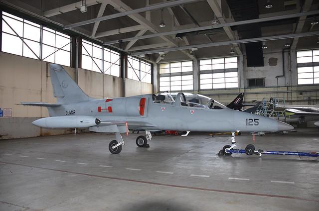 125 G-JMGP L-39 Albatross