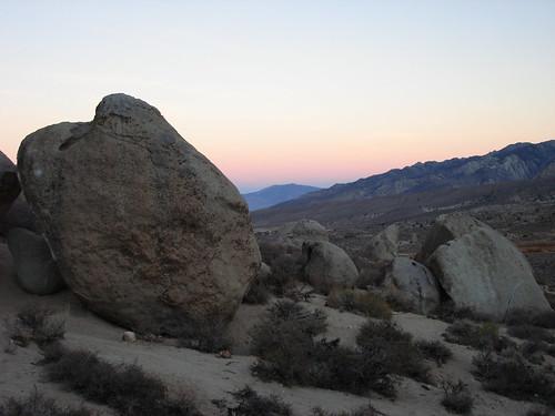 The Buttermilk Boulders