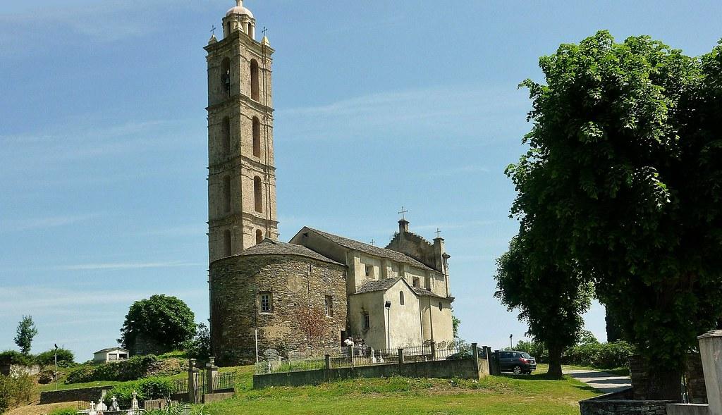 KORSIKA, L'église de San Nicolao, 11476/3953