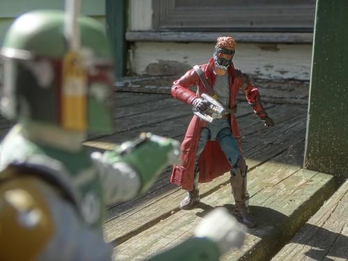 Star-Lord vs Fett 2
