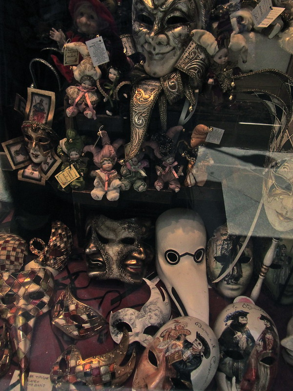 Heap of masks