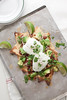 Breakfast Nachos with Poached Eggs