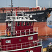 Small photo of Denak Voyager with Charles D McAllister Tug