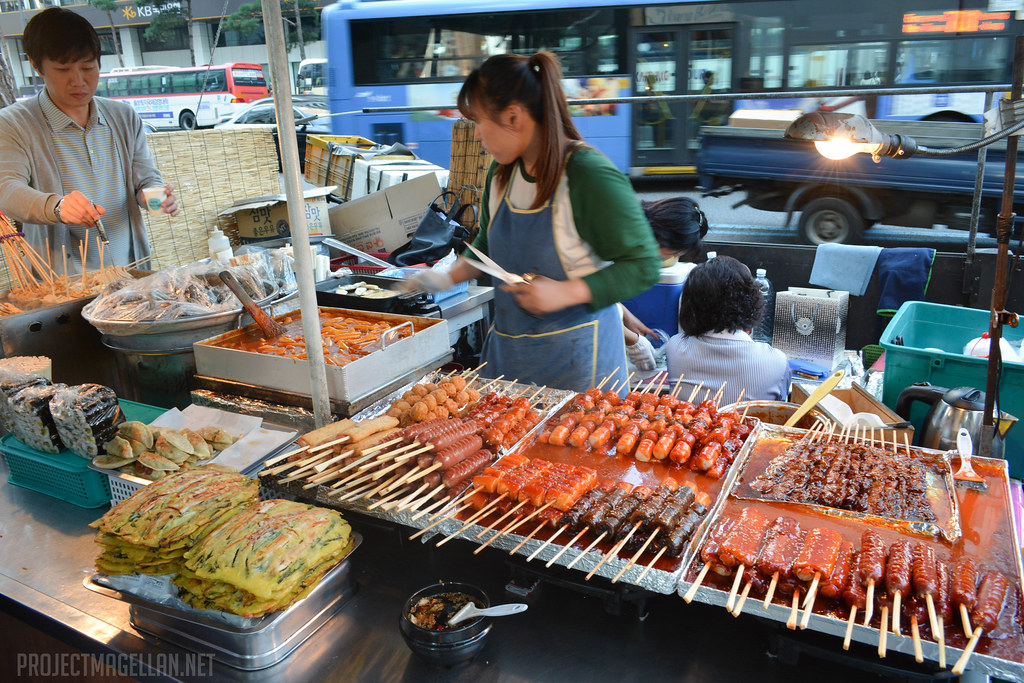Seoul, South Korea, Street Food