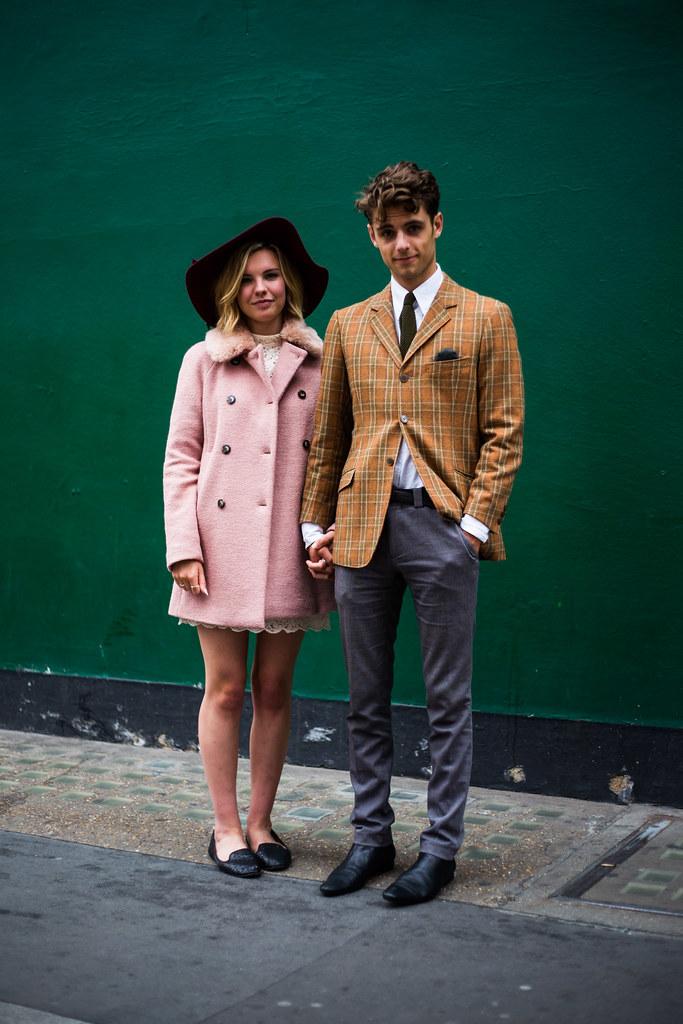 Street Style - Maya & Oliver, Berwick Street