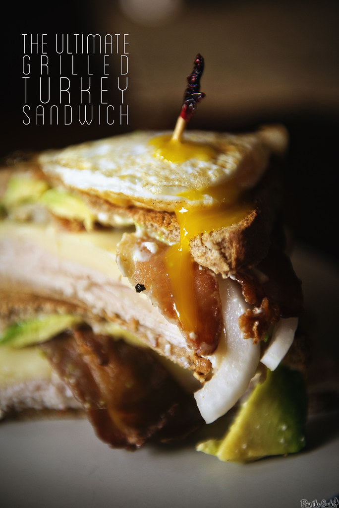 The Ultimate Grilled Turkey Sandwich  || GirlCarnivore.com