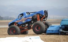 racing(0.0), race(0.0), dirt track racing(0.0), off road racing(0.0), rally raid(0.0), jeep(0.0), sprint car racing(0.0), race track(0.0), auto racing(1.0), automobile(1.0), wheel(1.0), vehicle(1.0), sports(1.0), motorsport(1.0), off-roading(1.0), monster truck(1.0), off-road vehicle(1.0),
