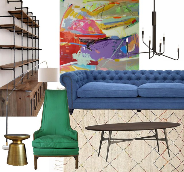 Chairish - Rustic Modern Colorful