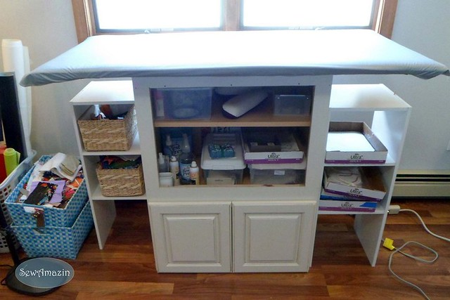 Sewing Room 'After' Reorganization