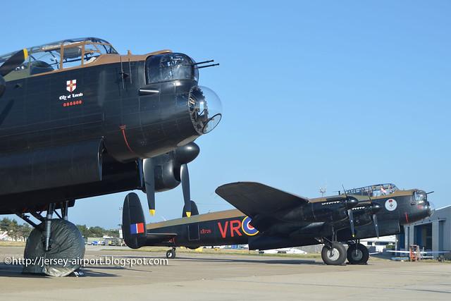 PA474 Avro 683 Lancaster I & C-GVRA Avro 683 Lancaster B.X