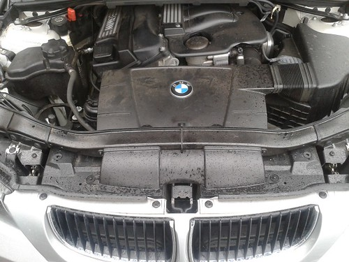 BMW E90 Engine Bay