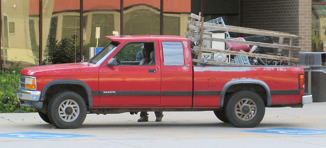 Dodge Dakota Scrapper Truck