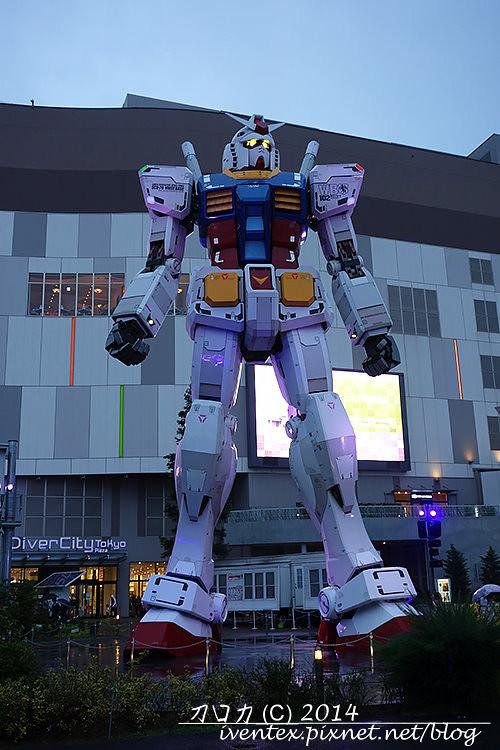 03日本東京台場DiverCity Tokyo Plaza機動戰士鋼彈