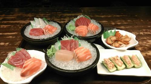 日本料理包廂食記-教師節讓老師在高雄松江庭餐廳吃到飽 (17)