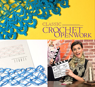 Learn Crochet Lace on Craftsy