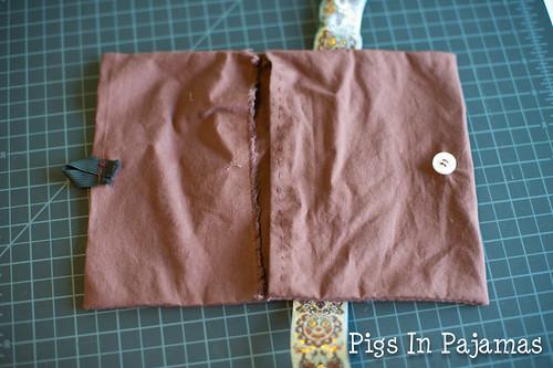 Hand sewn purse