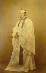 Rev E K (Edmund King) Miller, 1820-1911, photo circa 1864