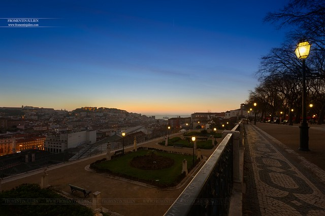 Miradouro São Pedro de Alcântara, Lisboa, Portugal