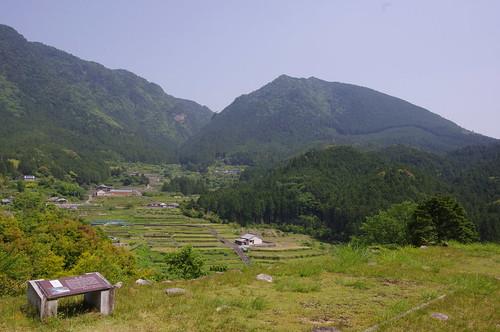 赤木城址からの眺望