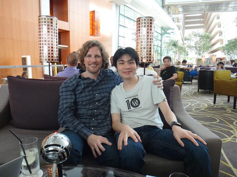 Matt Mullenweg & I