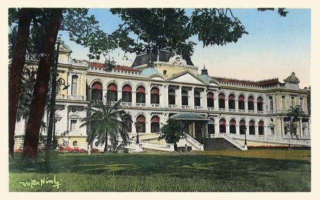 Saigon 1954 - Palais du Haut-Commissariat de France (Commissariat général)