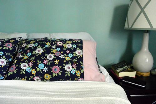 Pretty flowered pillowcases
