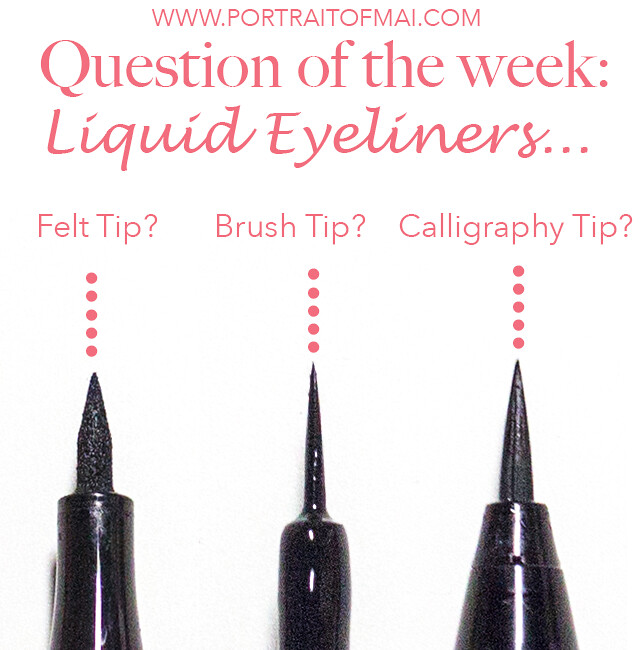 Question of the week favorite liquid eyeliner style