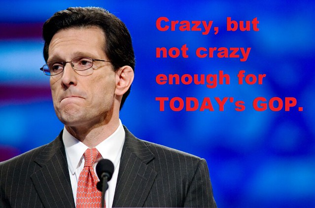 Eric Cantor Ousted