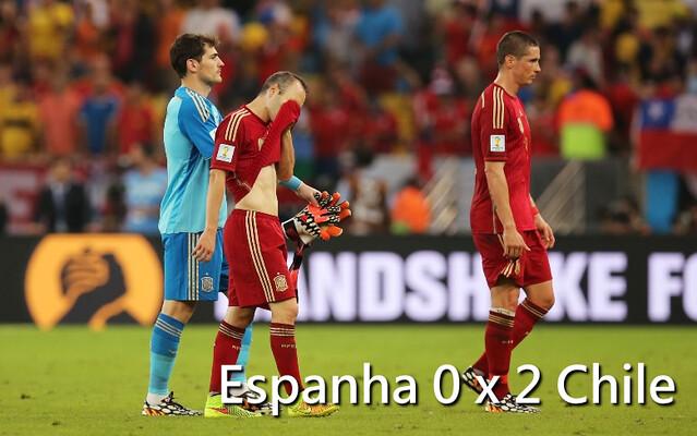 Espanha fora