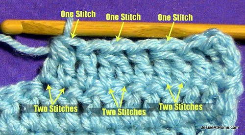 Stitchopedia ~ Techniques: Double Crochet 2 Together (dc2tog)