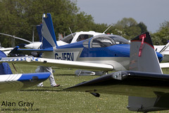 G-JFRV VAN'S RV-7 PFA 323-13851 PRIVATE -Sywell-20130601-Alan Gray-IMG_9222
