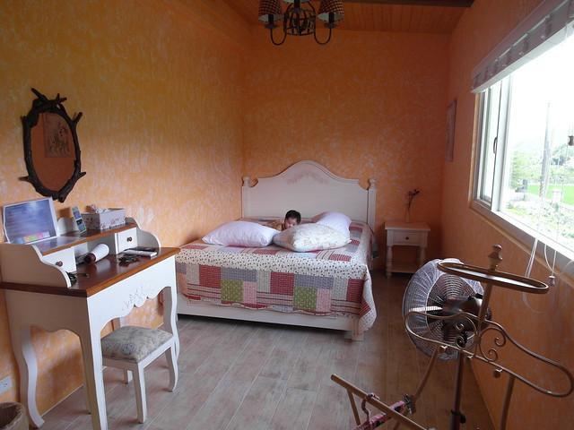 我們住的雙人房「晨曦」,看看小麋鹿躲在哪?@宜蘭心森林民宿1N