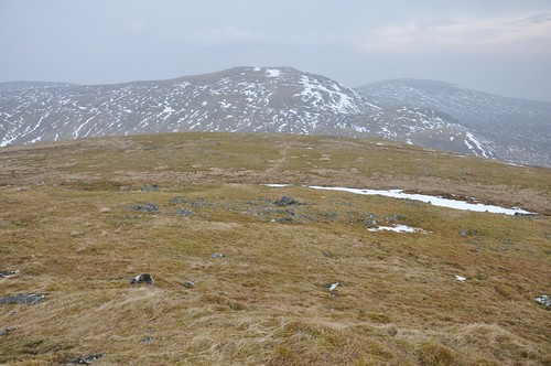 Carn Dearg (North) from Carn Dearg (South) across Glen Eachach