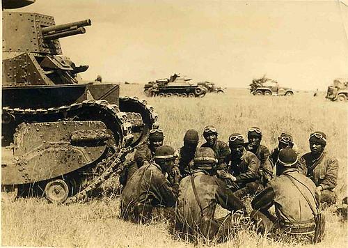 Japanese tanks Mongolia