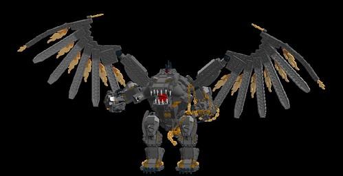 LEGO LDD MOC - Balrog 1