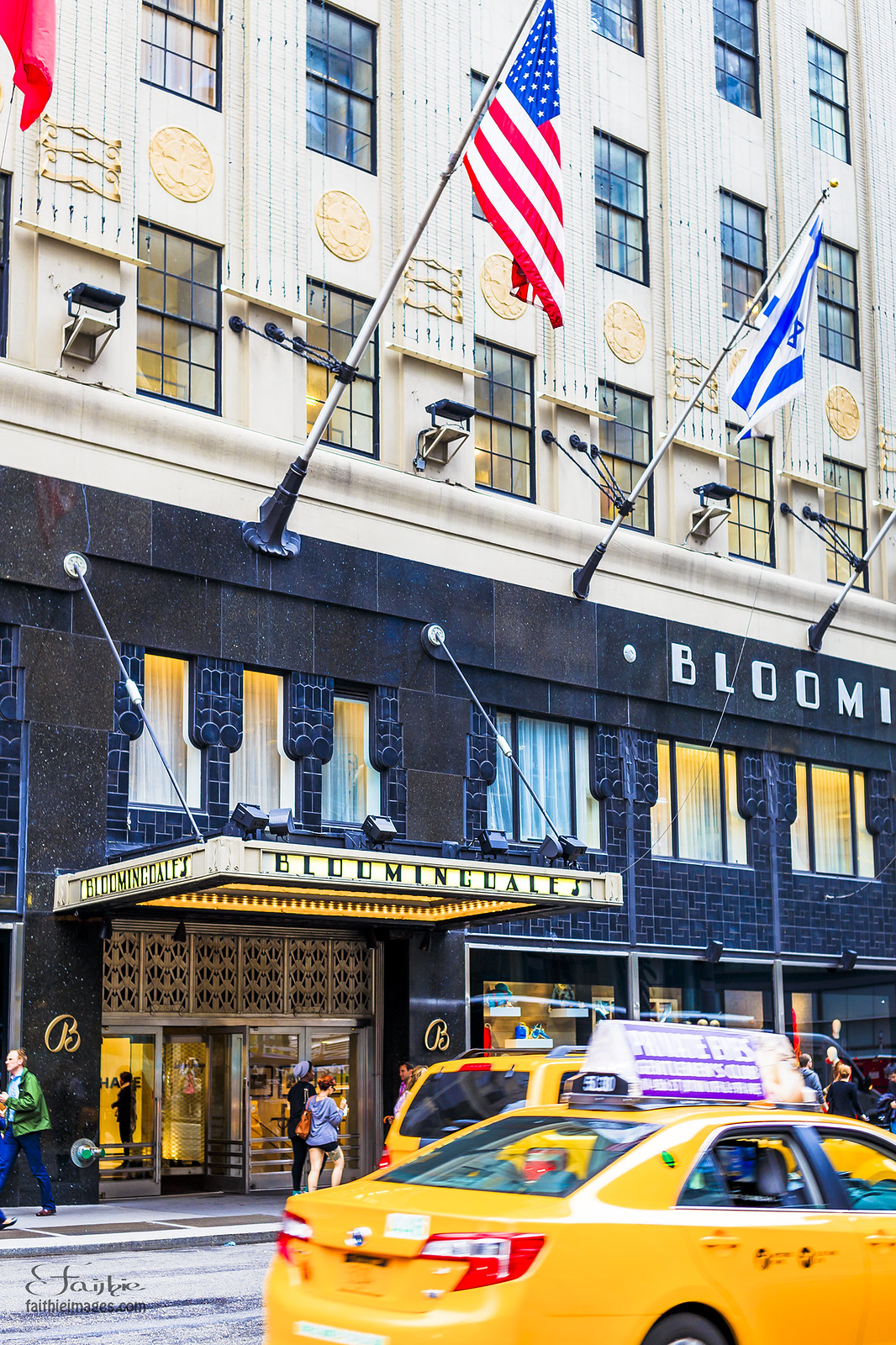 Entrance door of Bloomingdale's