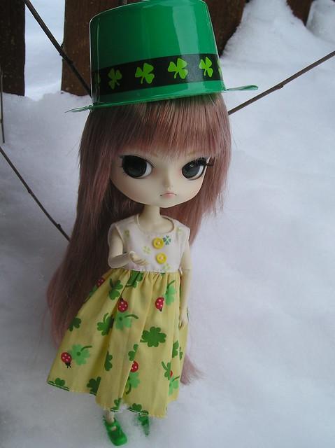 Phoebe/Petrichor celebrates St. Patrick's Day