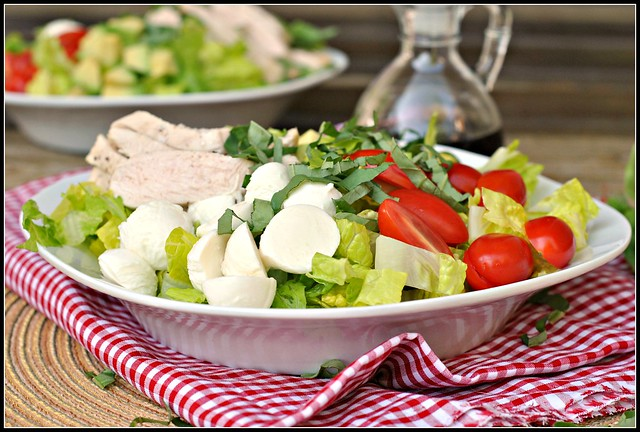 Caprese Avocado Salad 3