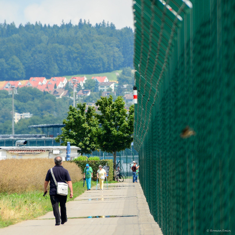 Flughafen Zürich Fence