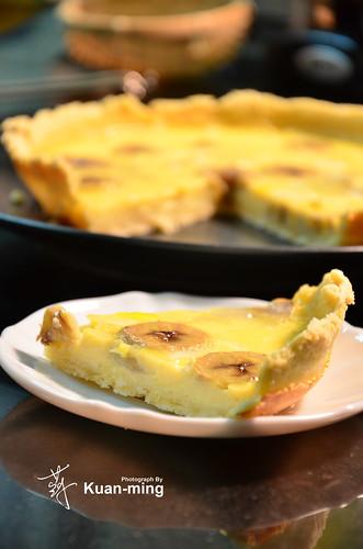 ... 生。活: 差不多食譜:香蕉卡士達塔 Banana Custard Tart