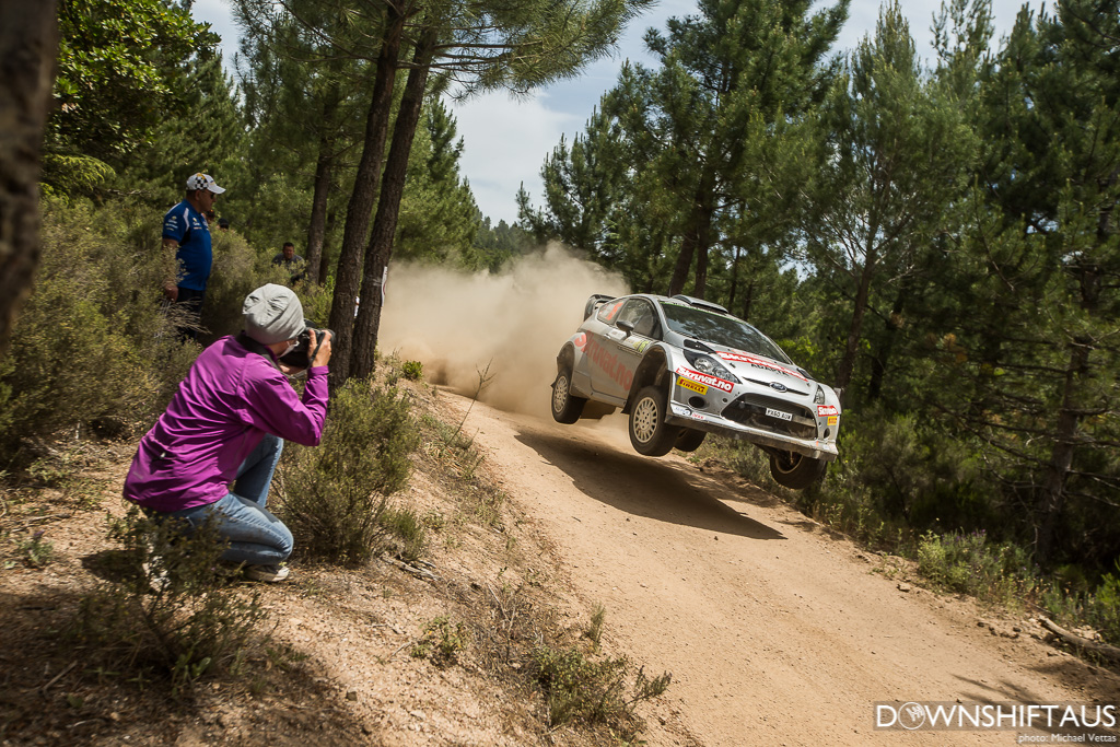 WRC competitors compete in Heat 1 of Rally d'italia Sardegna on stages east of Alghero.