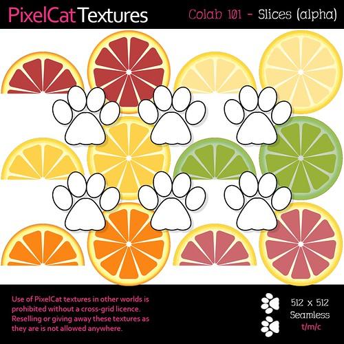 PixelCat Textures - Colab 101 - Slices