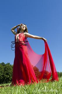 Une grande robe pour une belle déesse