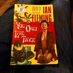 Finished. Only a couple more till I have read them all. #ianfleming #007 #jamesbond