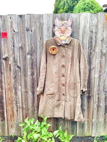 linen coat 2014
