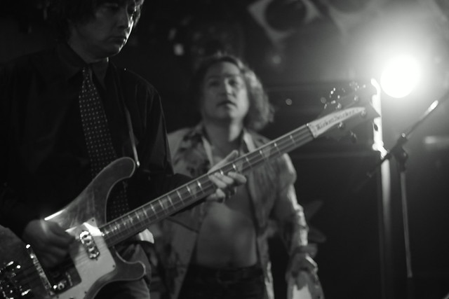THE ELECTRIC EEL live at ShowBoat, Tokyo, 27 Jun 2014. 075